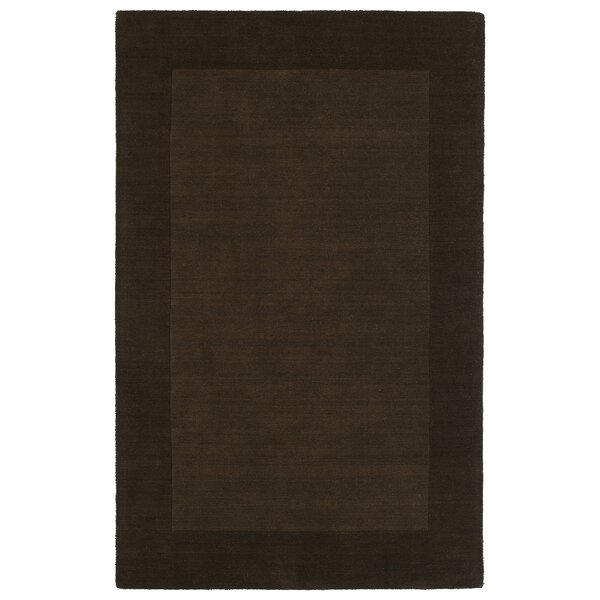 Attles Solid Kids Brown Rug by Red Barrel Studio