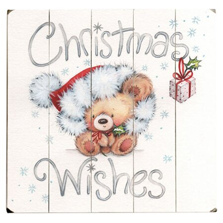 Christmas Wishes Graphic Art Multi-Piece Image on Wood by Artehouse LLC