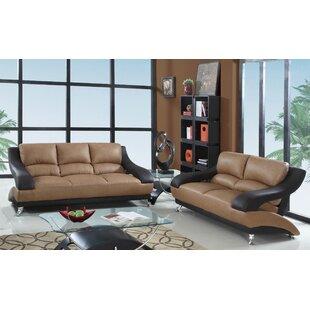 Dempstor Luxury 2 Piece Living Room Set by Latitude Run®