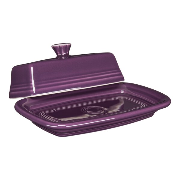 Extra Large Covered Butter Dish by Fiesta