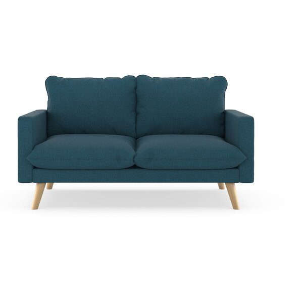 Cowans Cross Weave Loveseat By Corrigan Studio