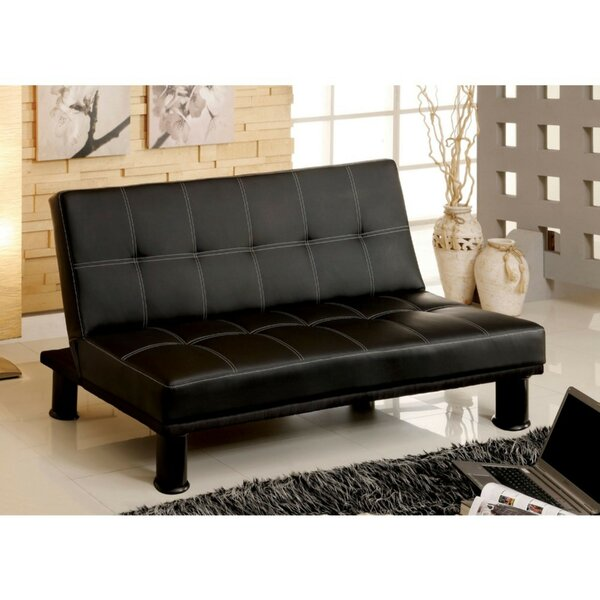 Gately Futon Sofa by Ebern Designs