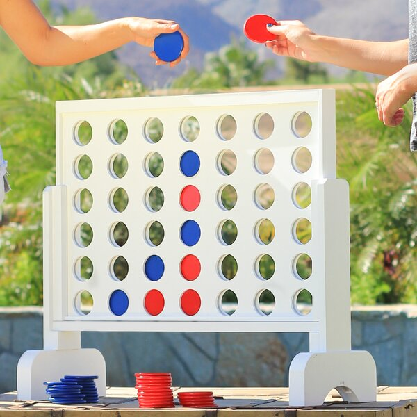 4 In-A-Row Giant Board Game by GoSports