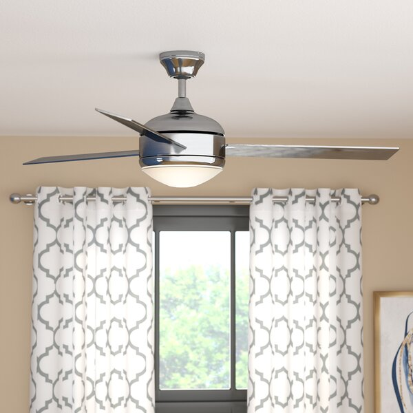 48 Dennis 3-Blade Ceiling Fan by Zipcode Design