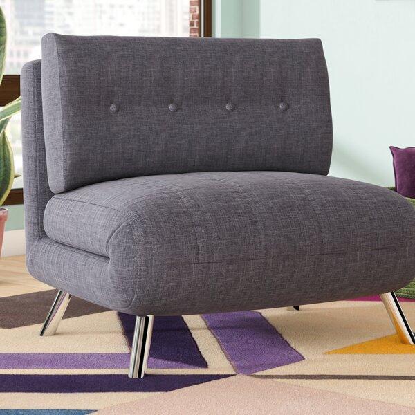 Leola Convertible Chair and Ottoman by Latitude Run