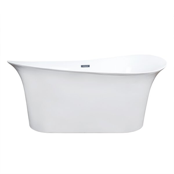69 x 32 Freestanding Soaking Bathtub by AKDY