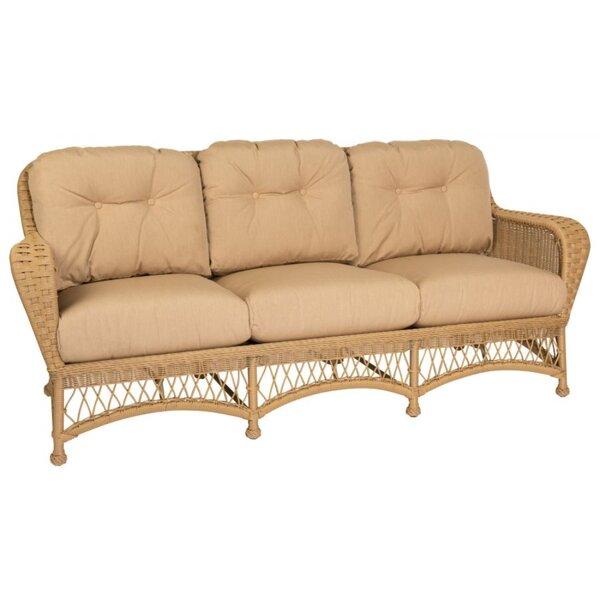 Sommerwind Sunbrella Patio Sofa With Cushions by Woodard