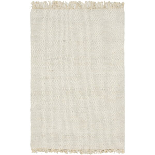 Gelman Hand-Woven Ivory Area Rug by Highland Dunes