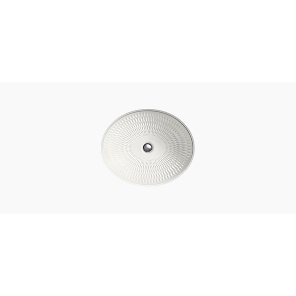 Derring Ceramic Oval Undermount Bathroom Sink by Kohler