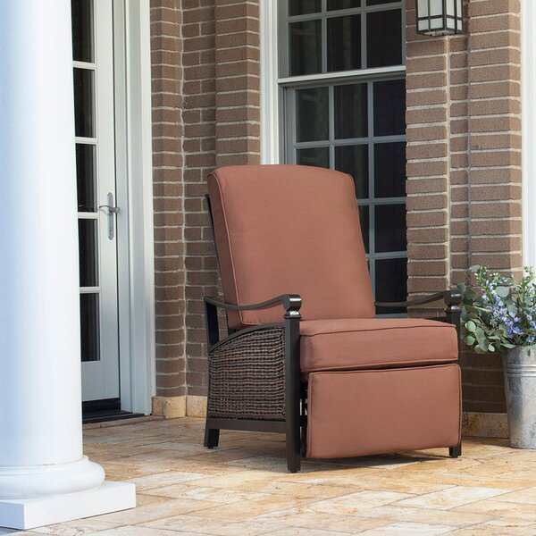 Carson Luxury Outdoor Recliner Chair with Cushion by La-Z-Boy