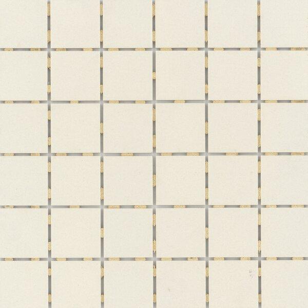 Zone 2 x 2 Porcelain Mosaic Tile in Matte Bone by Emser Tile
