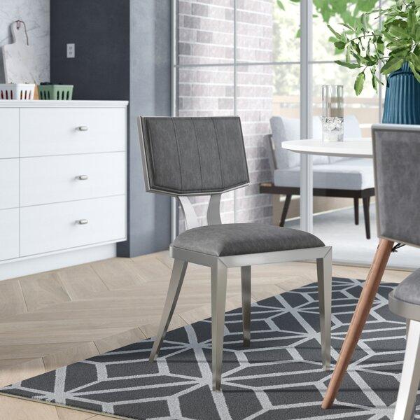 Mavis Upholstered Dining Chair (Set Of 2) By Orren Ellis