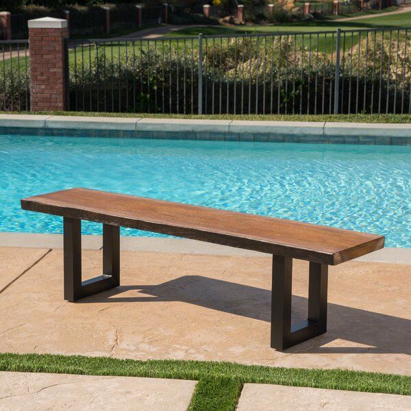 Croghan Outdoor Garden Bench by Foundry Select Foundry Select
