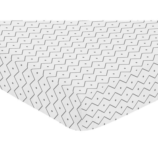Mod Dinosaur Fitted Crib Sheet by Sweet Jojo Designs