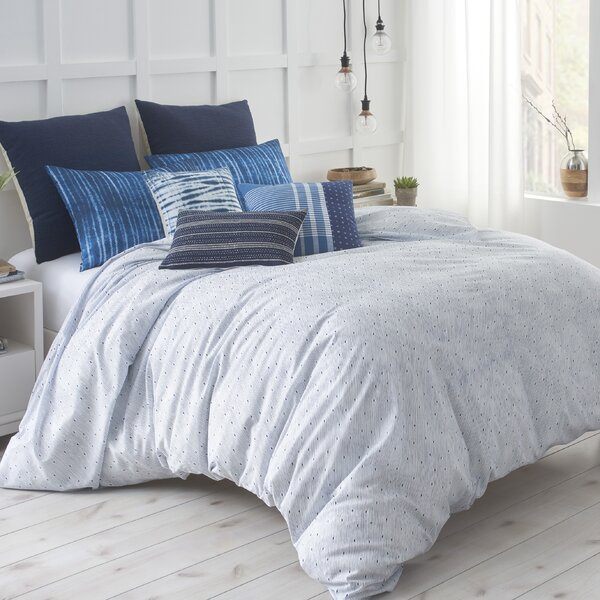 Shibori Chic Duvet Cover by Under the Canopy