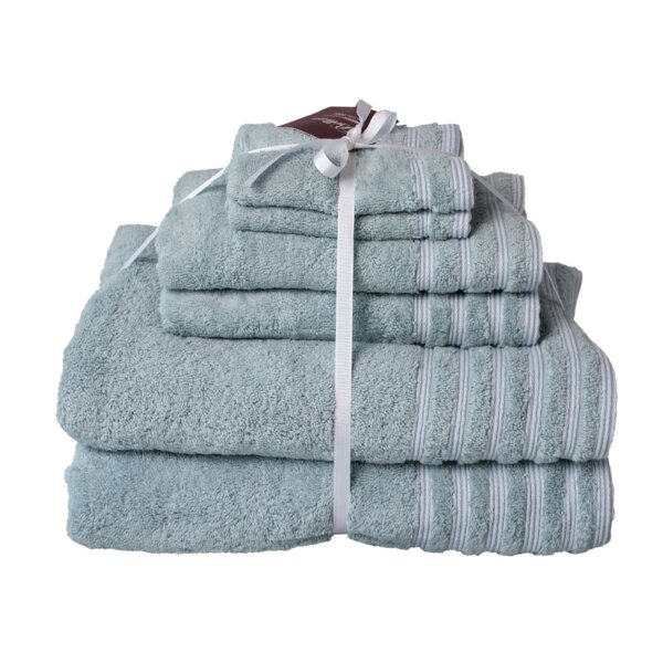 Neston 6 Piece Turkish Cotton Towel Set by Charlton Home