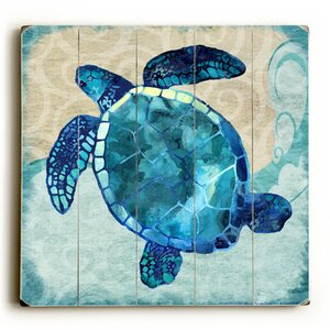 Sea Turtle Graphic Art by Artehouse LLC