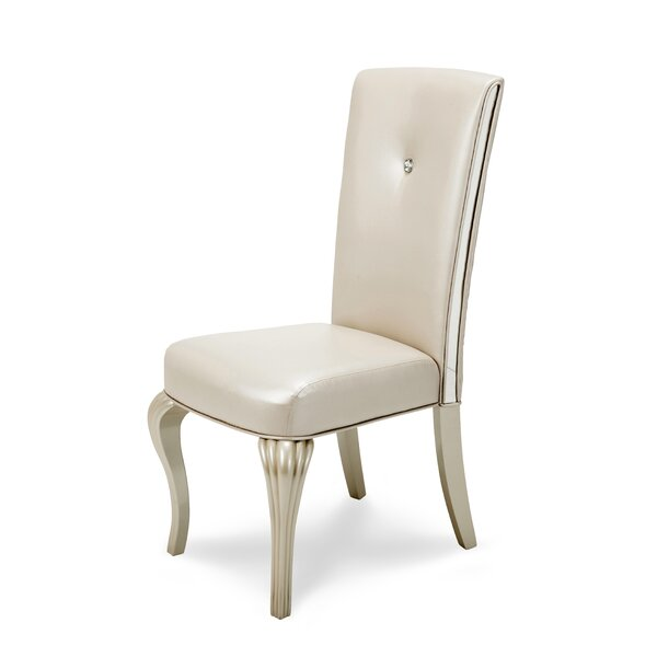 Hollywood Loft Upholstered Dining Chair By Michael Amini