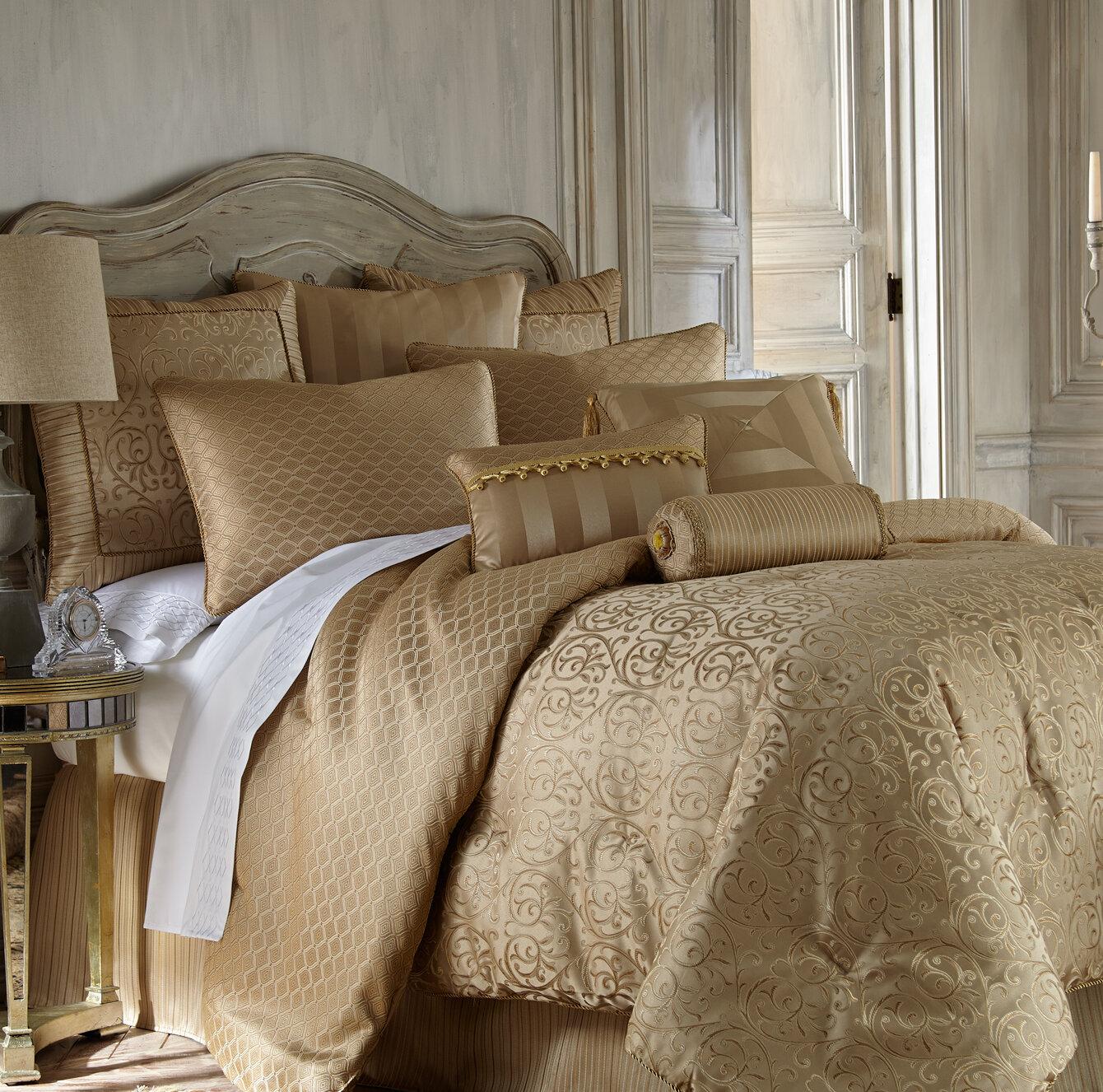Waterford Bedding Anya 4 Piece Reversible Comforter Set & Reviews ...