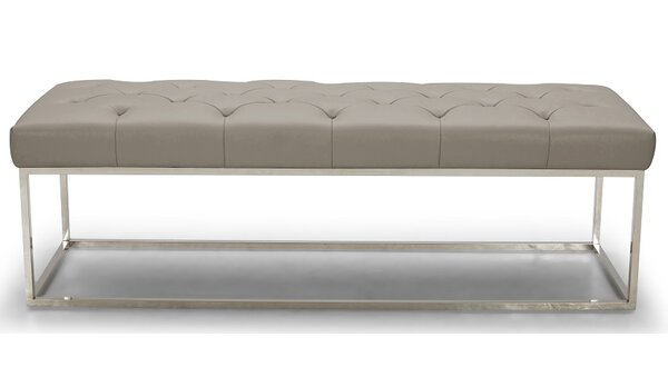 Secor Lux Faux Leather Bench by Brayden Studio