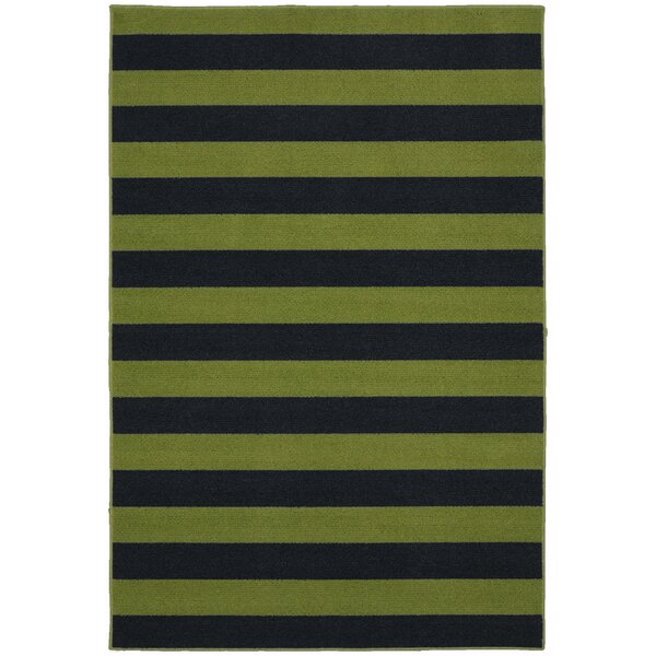 Rugby Sage/Navy Area Rug by Garland Rug