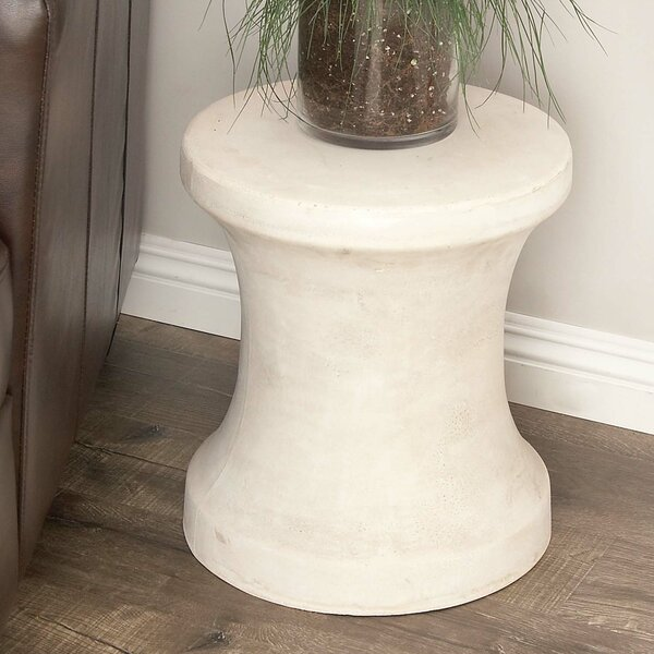 Hisle Spool Pin Shaped Accent Stool by Williston Forge