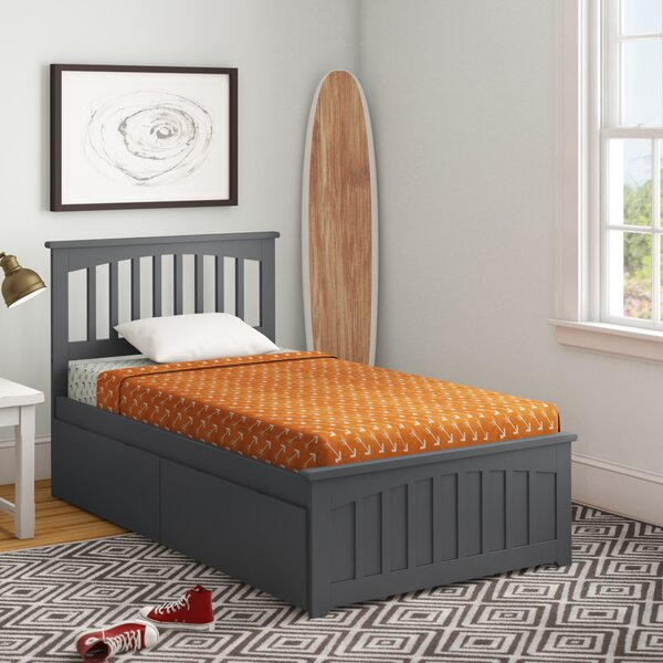 Rhonda Platform Bed with Drawers by Viv + Rae