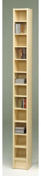 CD Multimedia 12-Shelf Storage Rack by Wildon Home ®