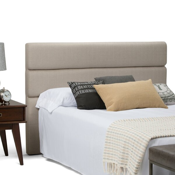 Ciara Queen Upholstered Panel Headboard by Simpli Home