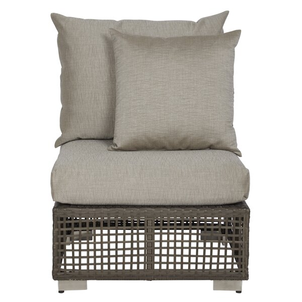 Mcmanis Patio Chair with Cushions by Ivy Bronx