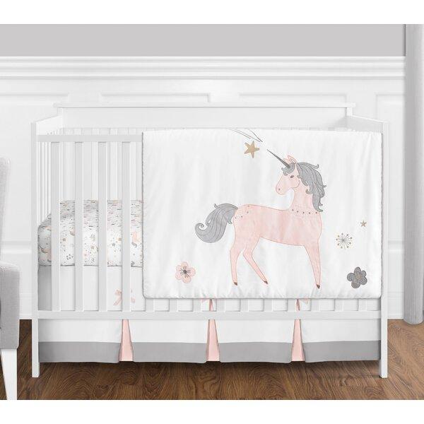 Unicorn 4 Piece Crib Bedding Set by Sweet Jojo Designs