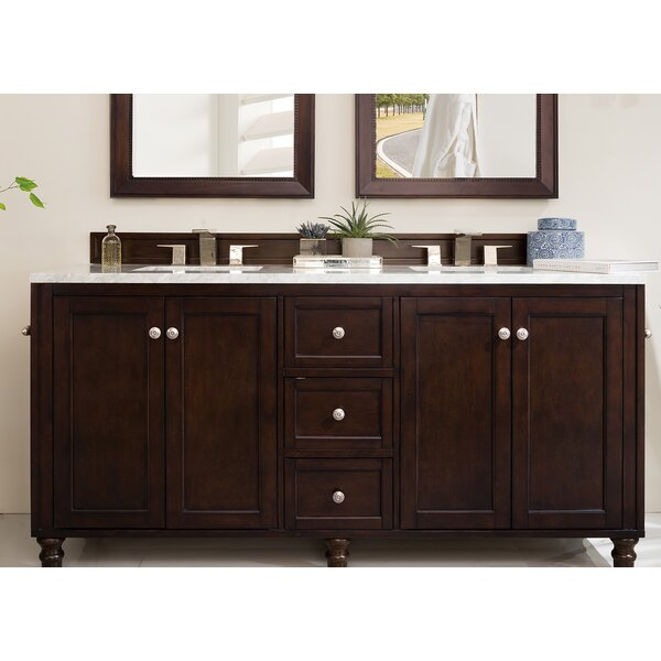 Berlin 72 Double Bathroom Vanity Set by Laurel Foundry Modern Farmhouse