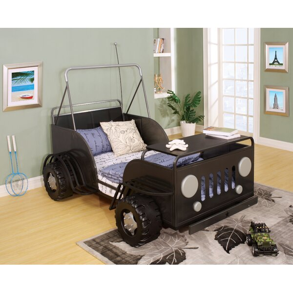 Amiya Twin Car Bed by Zoomie Kids