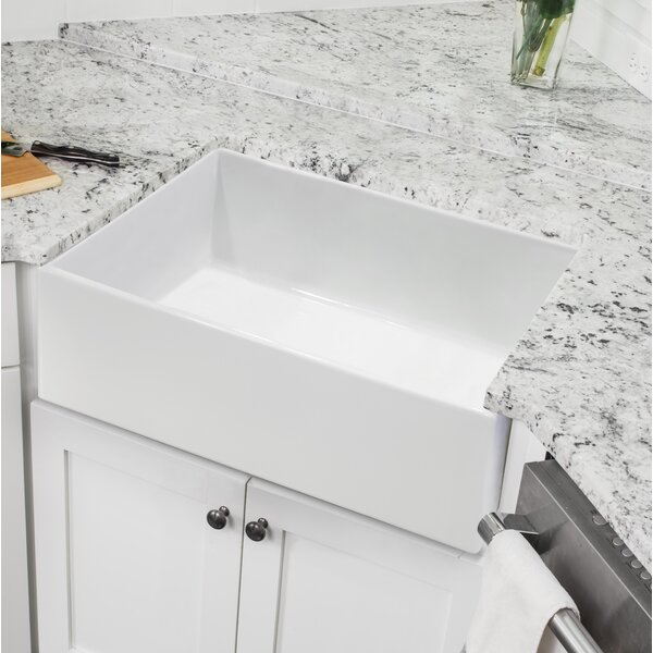 24L x 18W Farmhouse/Apron Kitchen Sink by Soleil