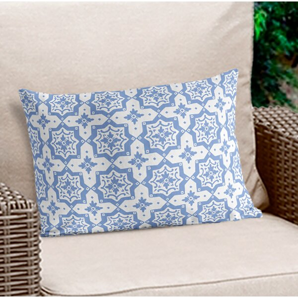 Bodean Geometric Lumbar Pillow