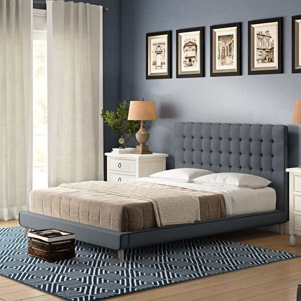 Lonan Upholstered Platform Bed by Wrought Studio