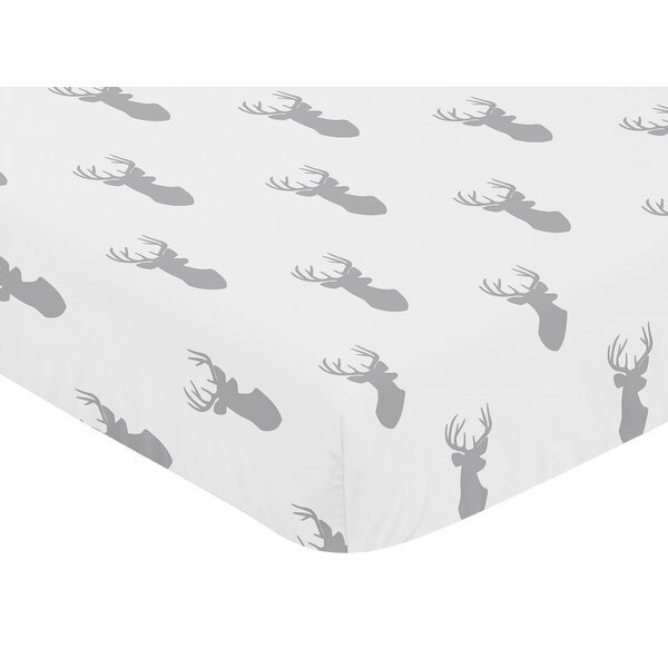 Stag Fitted Crib Sheet by Sweet Jojo Designs