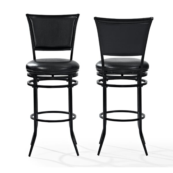 Massena 44.5 Swivel Bar Stool by Darby Home CoMassena 44.5 Swivel Bar Stool by Darby Home Co