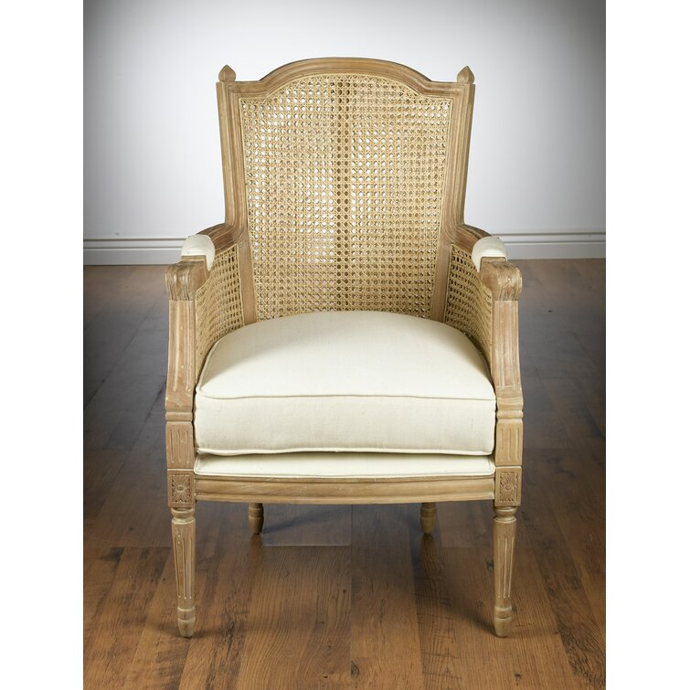 """Adrik 27"""" Wide Linen Armchair"""