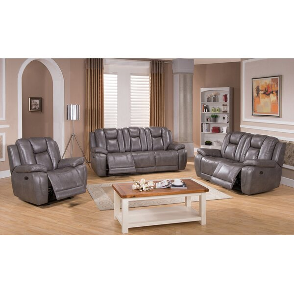 Fae Reclining 3 Piece Living Room Set by Red Barrel Studio