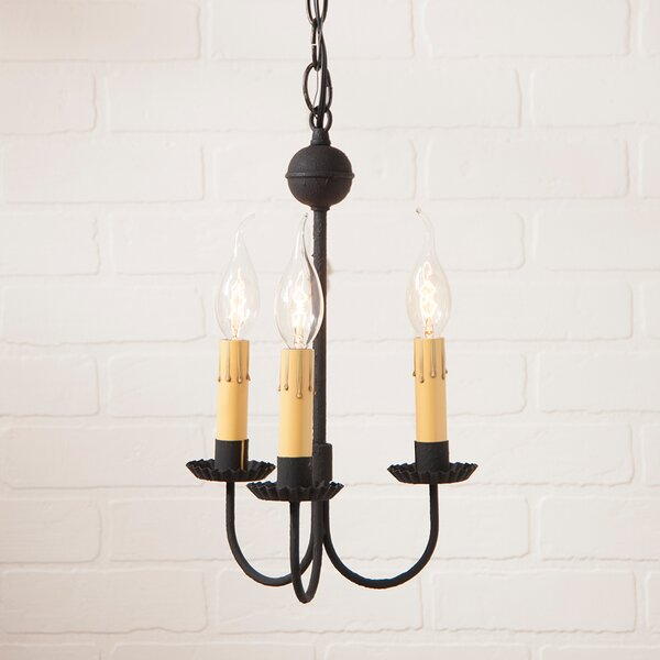 Weidman 3-Light Candle Style Chandelier by Gracie Oaks