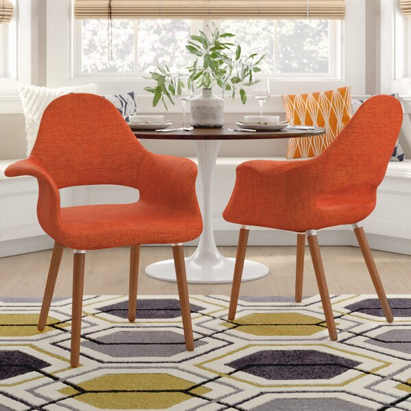Kansas City Upholstered Dining Chair (Set of 2) by Langley Street