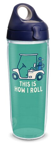 Life Is Good® Golf Cart Water Bottle 24 oz. Plastic by Tervis Tumbler