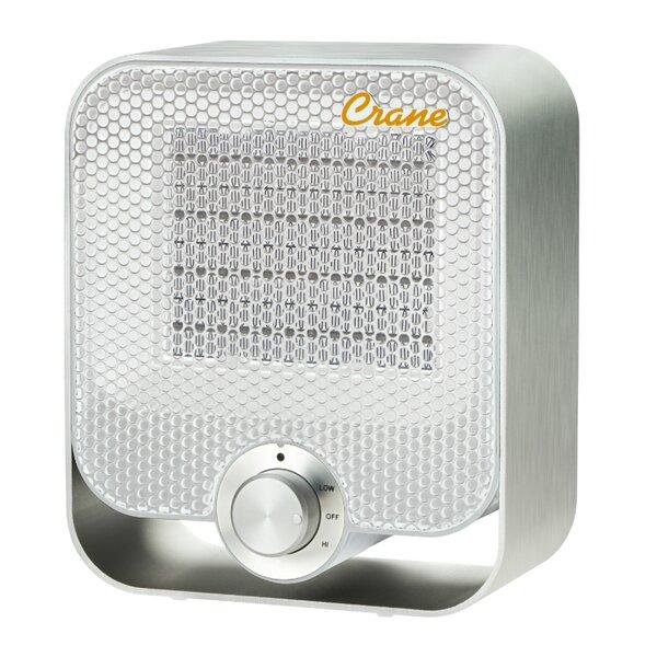 Crane USA 800 Watt Portable Electric Compact Heater by Crane USA