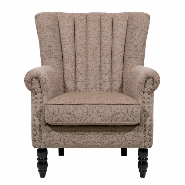 Felten Wingback Chair by Charlton Home
