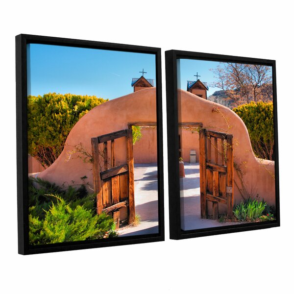 Gate To Chimayo by Steve Ainsworth 2 Piece Framed Photographic Print Set by ArtWall