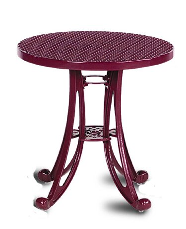 Carlisle Metal Bistro Table by Wabash Valley