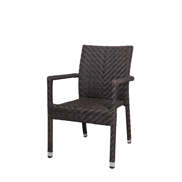 Miami Stacking Patio Dining Chair by Source Contract