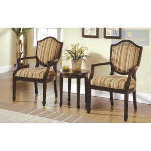 Sargentville 3 Pieces Living Room Armchair Set Bay Isle Home