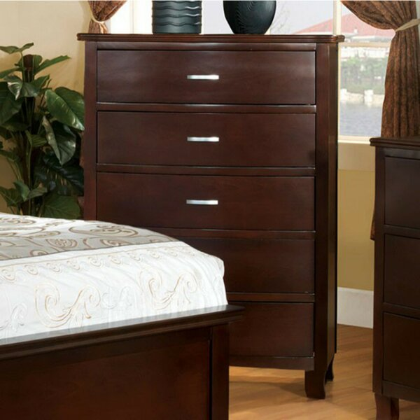 Alvy 5 Drawer Chest by Darby Home Co